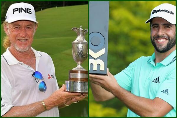 Miguel Ángel Jiménez y Adrián Otaegui dan lustre al Golf español con sus victorias en EE.UU. y Bélgica