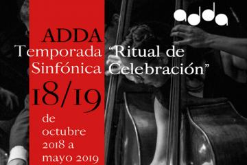 La Orquesta Sinfónica del ADDA, principal novedad de la programación de la temporada 2018/19