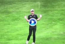 ¡Así no, Pieters! El belga volvió a demostrar su mal humor partiendo el palo en plena ronda (VÍDEO)