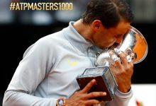 Nadal suma su 8º título en el Masters de Roma tras ganar 5 años después y recupera el nº1 del mundo
