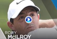 Rory no decepcionó en Wentworth, firmó 67 y ya es 4º. Atención especial al golpazo en el ocho (VÍDEO)