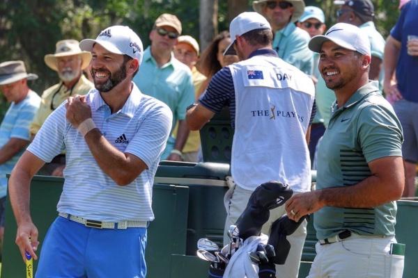 Sergio García Jason Day The Players 18 @PGATour
