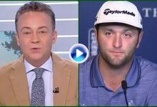 Rahm piropea a TVE: 'Ganar el Players no tendría la mitad de la repercusión del Open de España' VÍDEO