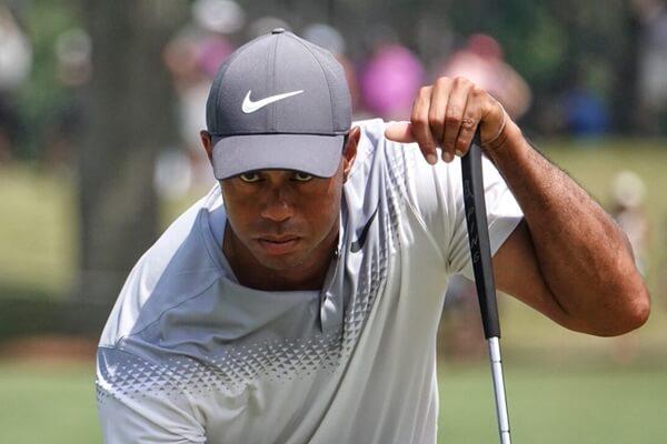 Tiger Woods, baja sensible para el evento que arranca en un par de días. Foto: @PGATour