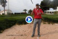 ¿Problemas en el bunker? Toni Pastrana nos enseña a sacar la bola alta desde la arena (VÍDEO)