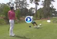 Golf y Fútbol unidos en este mágico golpe de fantasía a cargo de Bryan y F2Freestylers (VÍDEO)