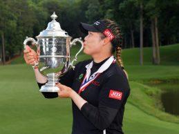 La tailandesa Ariya Jutanugarn, premio Jugadora del Año de la LPGA por segunda vez en su carrera