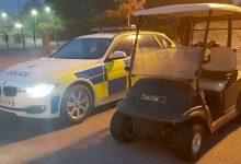 Un adolescente, detenido tras robar un buggy de un campo y dirigirse con él a cenar al McAuto
