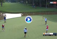 Espléndido eagle y soberbia reacción de Carlota en el US Open ¡Vaya purazo de la navarra! (VÍDEO)