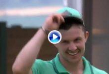 ¡¡Vaya putt!! Syme la enchufa desde su casa en el 18 para acabar segundo en solitario en Viena (VÍDEO)