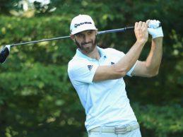 Dustin Johnson se borra del Byron Nelson por unas molestias y es duda para el PGA Championship