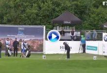 Este golpazo de Olazábal fue el segundo mejor de la semana en el BMW International Open (VÍDEO)