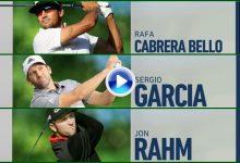 C.-Bello, OK; García y Rahm, KO. Vean los momentos destacados de los españoles en la 2ª Jorn. (VÍDEO)