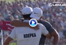Una vuelta que vale un US Open: así se gestó el 68 que le abrió a Koepka las puertas del cielo (VÍDEO)