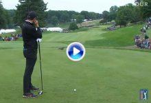Momento divertido: Una ardilla interrumpe el swing de Rory cuando iba a golpear la bola (VÍDEO)
