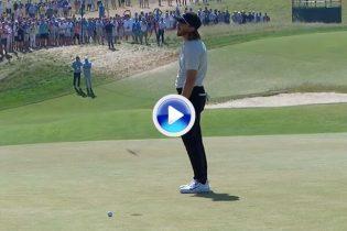 Este corto putt privó a Tommy Fleetwood el escribir con letras de oro su nombre en el golf (VÍDEO)