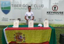 El joven Tomy Artigas repite triunfo en el Open de Italia de Pitch & Putt, evento que ya ganó en 2016