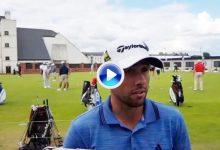 """Otaegui, 1er reserva en el Open: """"Estoy preparando Carnoustie como si estuviera dentro"""" (VÍDEO)"""