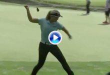 Henderson reventó su wedge después de perder la opción de ganar en el Women's PGA (Inc. VÍDEO)