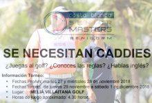 ¿Quieres hacer de caddie o voluntario en el Costa Blanca Benidorm Senior del Staysure Tour?