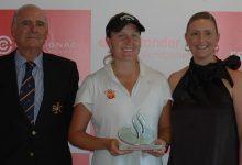 Camilla Hedberg logra su 1ª victoria profesional en La Peñaza, evento del Circuito Nacional Femenino