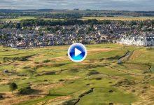 Carnoustie, campo con más de 175 años de historia acoge el Open. Conózcalo a vista de pájaro (VÍDEO)