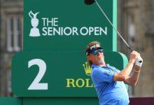 Jiménez on fire! El español se sale en el Senior Open con una remontada prodigiosa y ya es líder