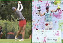 Eun Jung Ji Kim se sube al podio en el Ribeira Sacra Int. Ladies Open en el triunfo de la sueca Gustavsson