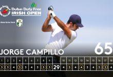 Campillo y Rahm rozan el título en Irlanda en un torneo que acabó decidiendo el putter de Knox