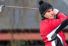 McNicoll realizó el sueño de jugar The Open pero antes tuvo que cumplir con su labor en Carnoustie