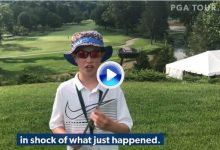 Un niño le pide una bola a Lee y este le regala su putter ¿Estás seguro? Le preguntó el chaval (VÍDEO)