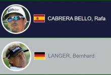 Cabrera-Bello jugará junto a toda una leyenda este sábado, el alemán Bernhard Langer (Ver HORARIOS)