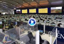 Así es la espectacular Sala de Prensa en la 147 edición de The Open vista desde su interior (VÍDEO)