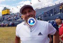 Sergio García en la previa del tercer Grande: «Es la 1ª vez que juego el campo así, tan duro» (VÍDEO)