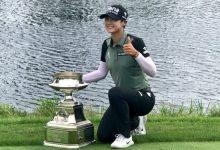 Ciganda desconecta antes de tiempo en el Women's PGA y finaliza en el T33 en el triunfo de Hyun Park