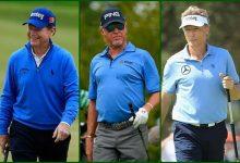 Partidazo en el Open Senior. Jiménez jugará con Tom Watson y Langer jueves y viernes (HORARIOS)