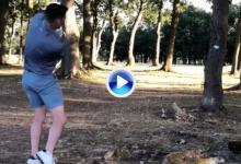 Un jugador inglés de cricket se llevó un pelotazo en plena cara al intentar el golpe de su vida (VÍDEO)