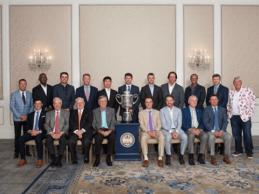 Justin Thomas ejerció de gran anfitrión en la Cena de Campeones del PGA Championship 2018