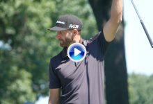 El Golf es duro… DJ cantó victoria antes de tiempo con un Ace y la bola le hizo una corbata (VÍDEO)