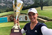Elia Folch estrena su palmarés internacional en el Bossey Ladies Championship del LET Access