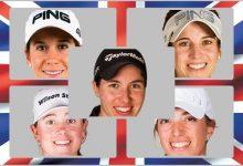 Carlota, Azahara, Noemí, Nuria y Silvia, en busca del British Open Femenino, 4º Grande del año