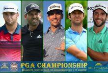 Rahm, García, C.-Bello, Campillo y Otaegui a la caza y captura del US PGA Champ, último Major del año