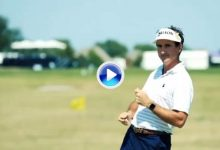 Más risas: Fdez.-Castaño y otros golfistas imitan el bailecito que se marca Lefty en su anuncio (VÍDEO)