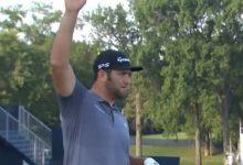 La tormenta obliga a la suspensión de la jornada en el PGA con Rahm en el Top 9 y Woodland como líder