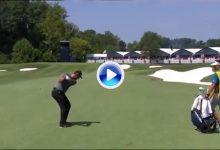 Jon Rahm prepara el asalto al US PGA con golpazos tan certeros como este. La dejó a un metro (VÍDEO)