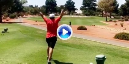 El Golf es divertido… Bueno no para todos, estos dos golfistas acortaron la vida de sus palos (VÍDEO)