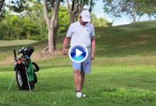 Nuevas Reglas de Golf (1): Si por accidente mueve su bola ya no penalizará, solo la repondrá (VÍDEO)