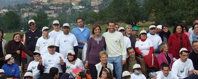 Sergio, Cristina y Consuelo Castellón, año 2007. Foto: Samuel Bautista