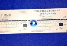 A quien madruga… Snedeker hace historia en el Wyndham y es el 9º en firmar 59 en el PGA (VÍDEO)