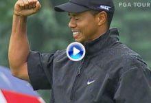 Estos son los 10 mejores golpes de Tiger Woods de todos los tiempos en el Firestone de Akron (VÍDEO)